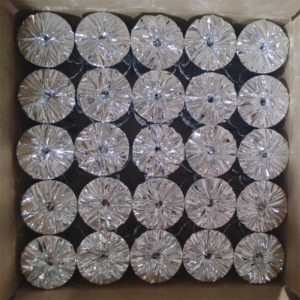 silver foil packing