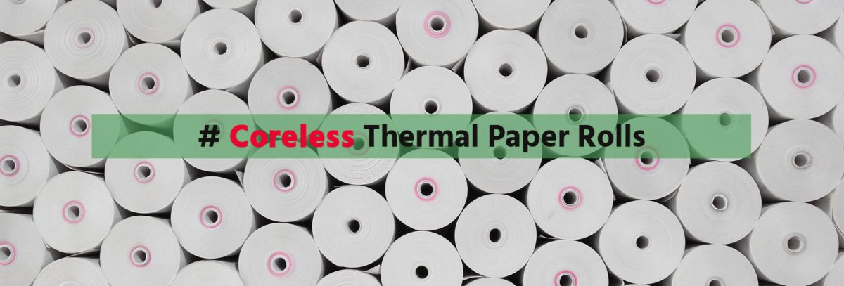 coreless thermal paper roll