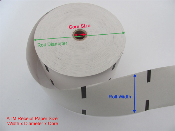How to make ATM Receipt Paper Rolls?